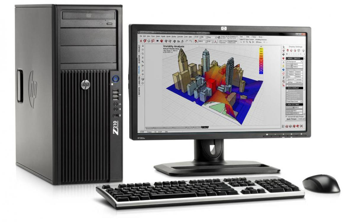 Hp z210 cmt workstation cadalyst for Mobel cad programm