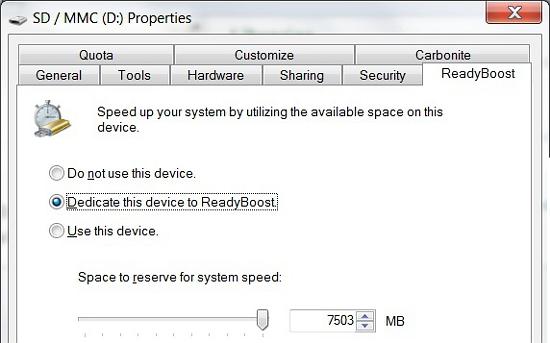 ReadyBoost Update for 64-Bit Windows 7 | Cadalyst