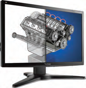 "For those who need a great deal of screen real estate, the 27"" ViewSonic VP2765-LED is ideal."