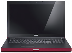The Dell M6700 Precision mobile workstation is available in phoenix red when you choose the Covet Edition.