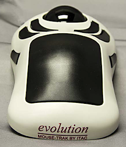 ITAC's evolution MOUSE-TRAK offers great ergonomics.