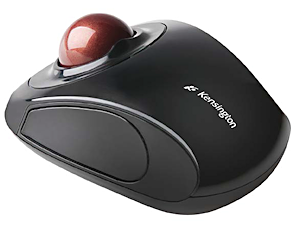 The Kensington Orbit wireless trackball is a solid option for 2D CAD users.