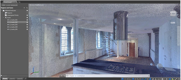 Clipping and rendering of multiple point clouds creates much more intuitive reality capture process.