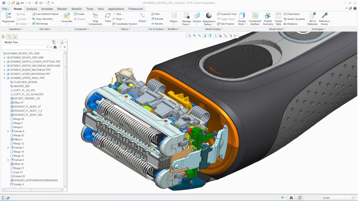Ptc Creo 3 0 Includes Game Changing Multi Cad Data