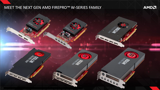 Scheduled for release later this year, the AMD FirePro W2100, W4100, W5100, and W7100 will join the previously released, high-end W8100 and W9100 in the W-Series family.
