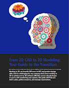 From 2D CAD to 3D Modeling: Your Guide to the Transition