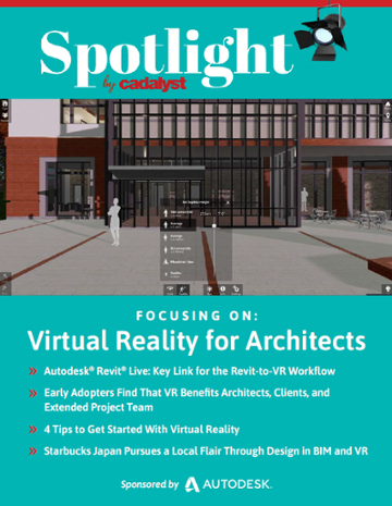 Cadalyst Spotlight: Virtual Reality for Architects