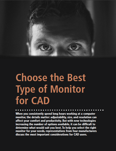 Cadalyst Guide: Choose the Best Type of Monitor for CAD