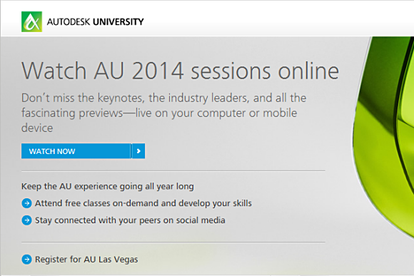 Get Your Own Autodesk University Account