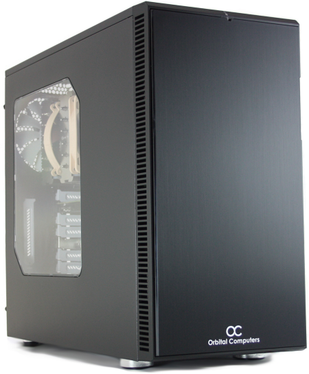 The Orbital C1000 workstation features an attractive case from Fractal Design.