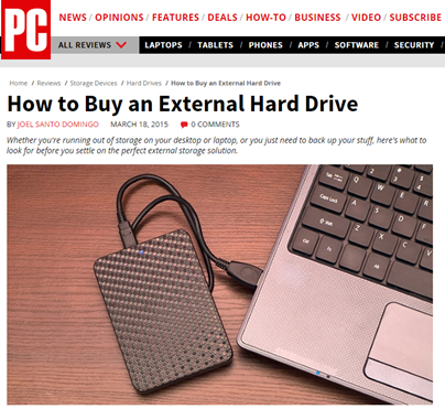 How to Buy and External Hard Drive