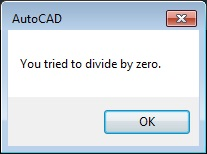 Dealing with Errors in AutoCAD Programs | Cadalyst