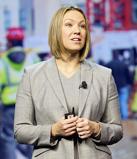 Sarah Hodges, director of the BIM 360 business line for Autodesk.