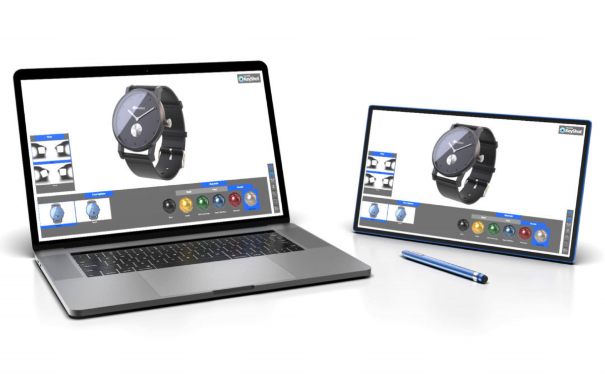 New KeyShot Viewer Supports Interactive Product Design
