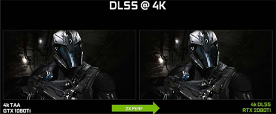 AI-enabled DLSS anti-aliasing: There's great value in any GPU feature that can deliver the same quality in fewer cycles. (Source: NVIDIA)