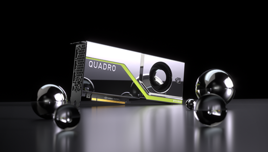The Turing-based Quadro RTX 8000 establishes a new high-water mark — in both price and performance — for a Quadro-brand product. (Source: NVIDIA)