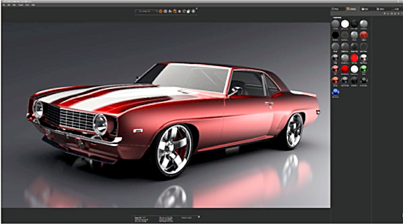 SolidWorks 2019's Visualize renderer taps into RTX technology and dramatically increases the speedy delivery of the 3D image quality we all want. Image source: Dassault Systèmes.