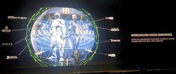NVIDIA's Omniverse hopes to ease the complexity of complex, multi-site, multi-contributor 3D content development. Image source: NVIDIA.
