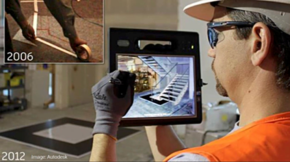 Figure 3. AEC/BIM offer some of the most obvious and compelling applications for AR. Image source: Autodesk.